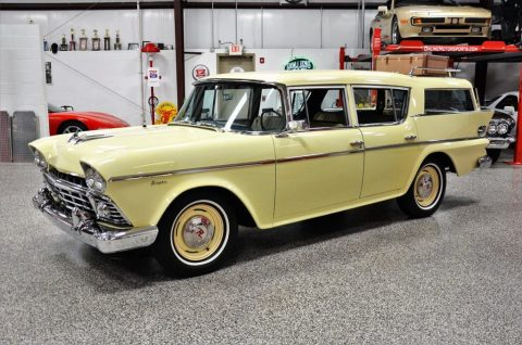 1958 AMC Rambler Super Cross Country Wagon zu verkaufen