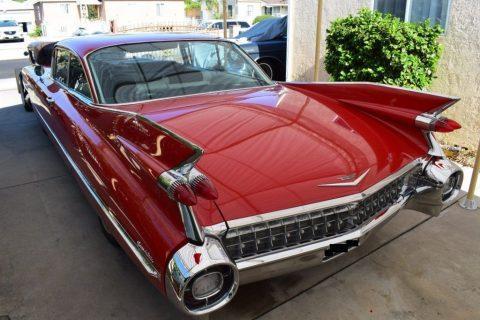 1959 Cadillac Coupe DeVille zu verkaufen