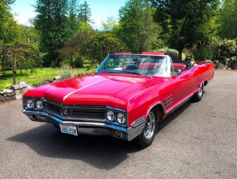 1965 Buick Wildcat Convertible zu verkaufen