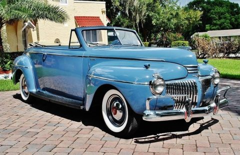 1941 DeSoto Custom Convertible zu verkaufen