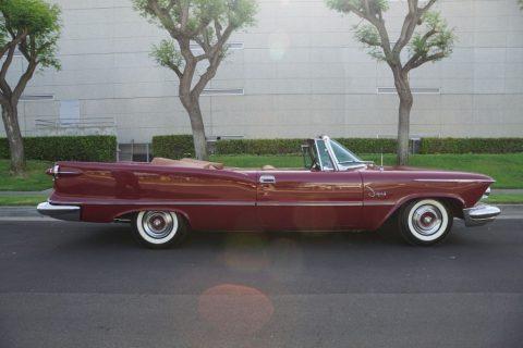 1958 Imperial Crown Convertible zu verkaufen