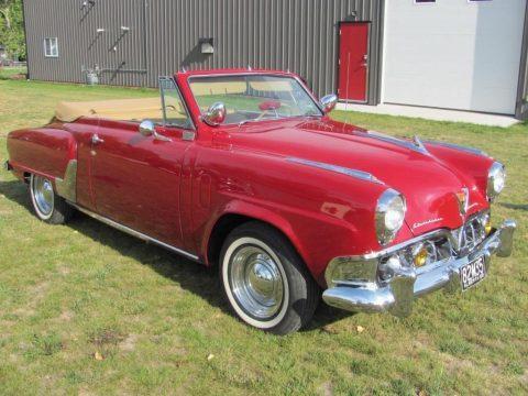 1952 Studebaker Commander Convertible zu verkaufen