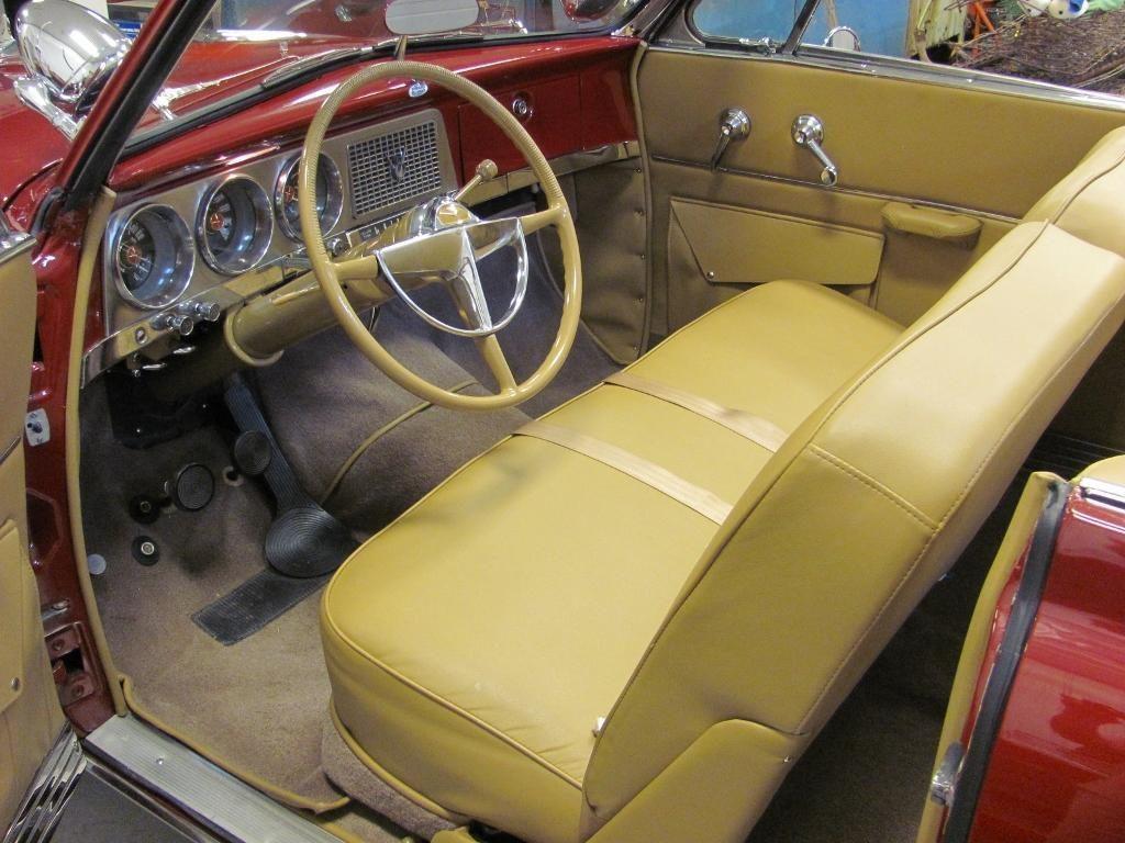 1952 Studebaker Commander Convertible