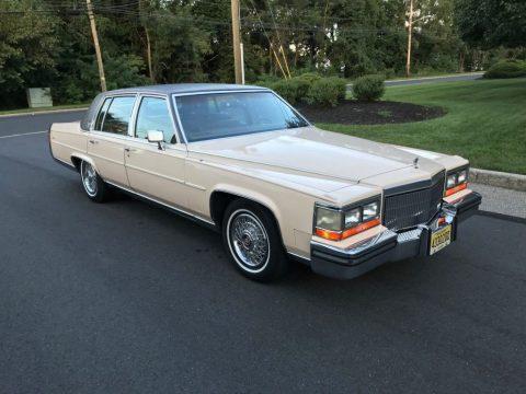 1989 Cadillac Fleetwood Brougham zu verkaufen