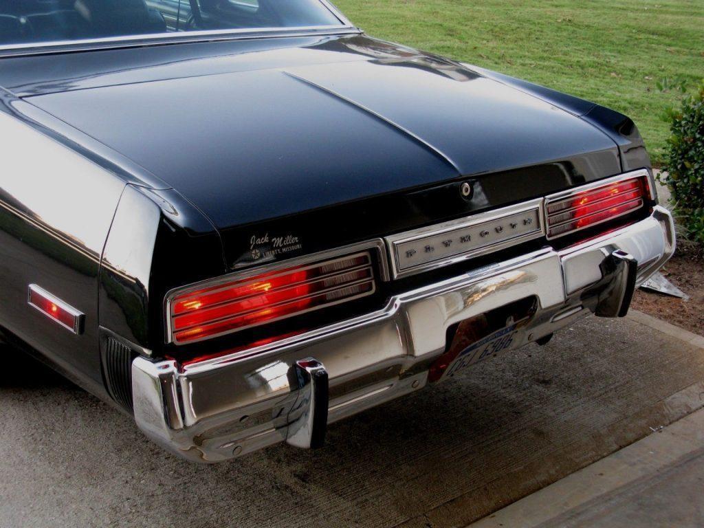 1975 Plymouth Gran Fury Brougham