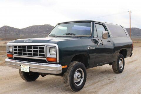 1985 Dodge Ramcharger zu verkaufen