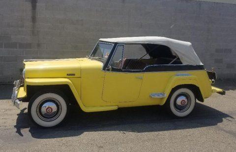 1949 Willys Jeepster zu verkaufen