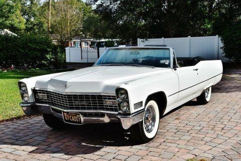 1967 Cadillac DeVille Convertible zu verkaufen