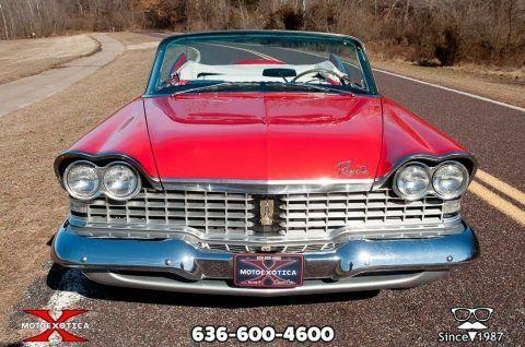 1959 Plymouth Sport Fury Convertible zu verkaufen