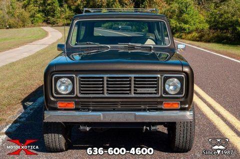 1976 International Harvester Scout II zu verkaufen