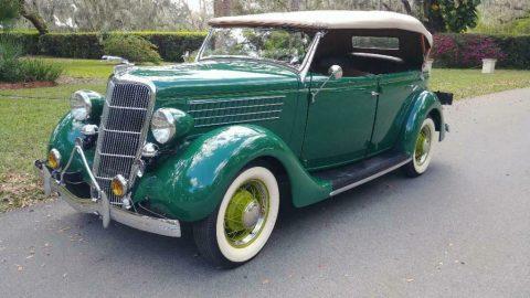 1935 Ford Deluxe Phaeton zu verkaufen