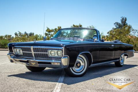 1965 Imperial Crown Convertible zu verkaufen