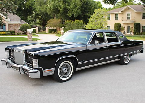 1977 Lincoln Town Car zu verkaufen