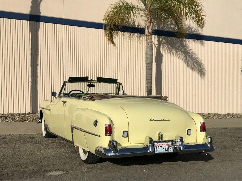 1950 Chrysler New Yorker Convertible