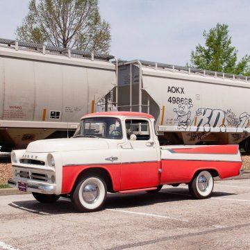 1957 Dodge D100 Sweptside zu verkaufen