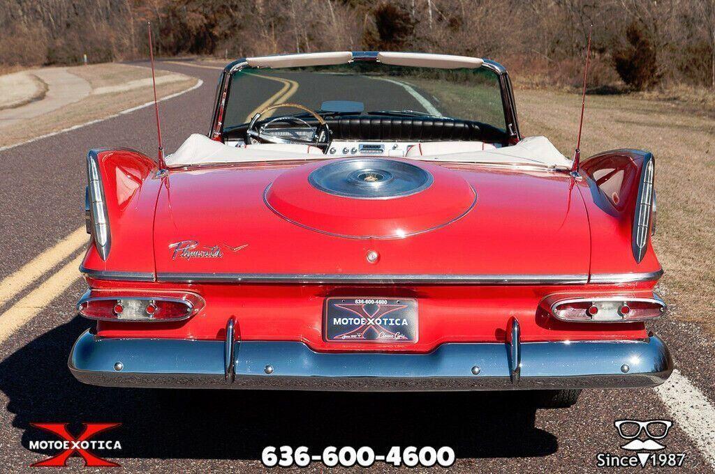 1959 Plymouth Fury Convertible