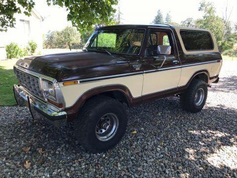 1979 Ford Bronco zu verkaufen