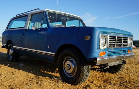 1978 International Harvester Scout Traveler zu verkaufen