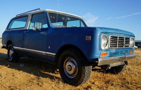 1978 International Harvester Scout Traveler zu verkaufen