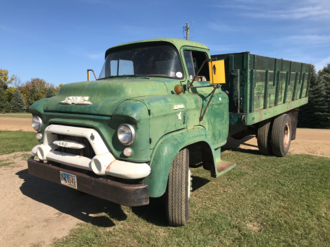 1957 GMC COE zu verkaufen
