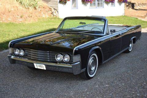1965 Lincoln Continental Convertible zu verkaufen