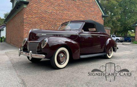 1939 Mercury Eight Convertible zu verkaufen
