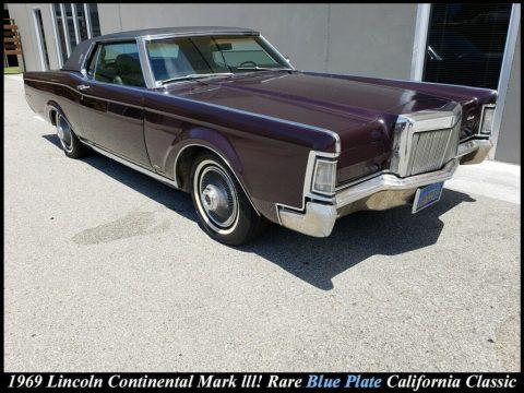 1969 Lincoln Continental Mark III zu verkaufen