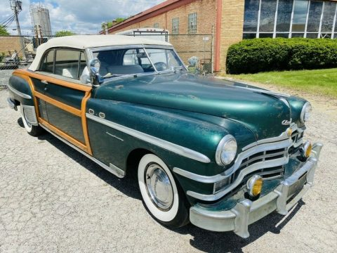 1949 Chrysler Town & Country Convertible zu verkaufen